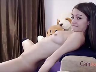 cute solo teen masturbate to orgasm