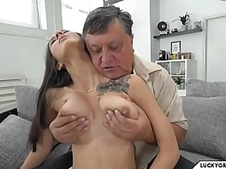 old man fucks young lover
