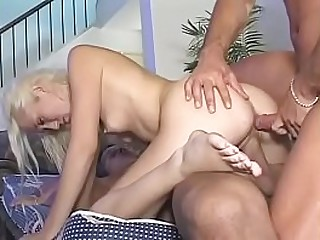 Threesome - young girl ask - What is it?
