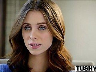 TUSHY First Anal For College Girl Anya Olsen