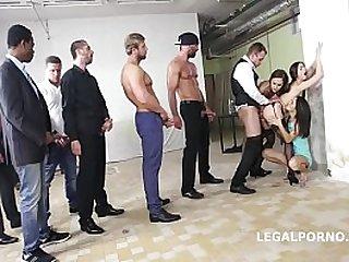 Initiation of a slut - Tina Kay & Gabriella Ferociously Hardcore Fucked!