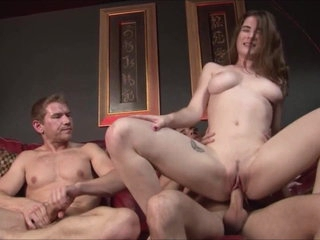 Teen Daughter Fucks Step Dad & Uncle - Molly Jane