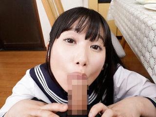 Aya Miyazaki in Aya Miyazaki Knee High Socks Short Skirt Taboo Schoolgirl Sex Part 1 - 3DV&R