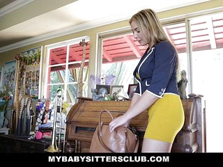 MyBabySittersClub - Hot Baby Sitter (Blair Williams) Craves Big Cocks