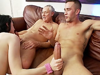 Only3x Network presenting - fresh hardcore scene with pornstar Louise Jenson  - Mature, Older Man, Threesome, Facial Cumshot, Big Boobs, Nylons/Pantyhose, Brunette, Shaved Pussy, Tattooes/Piercings, Heels, 4K Ultra HD, European